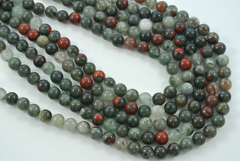 African Bloodstone Round 8mm