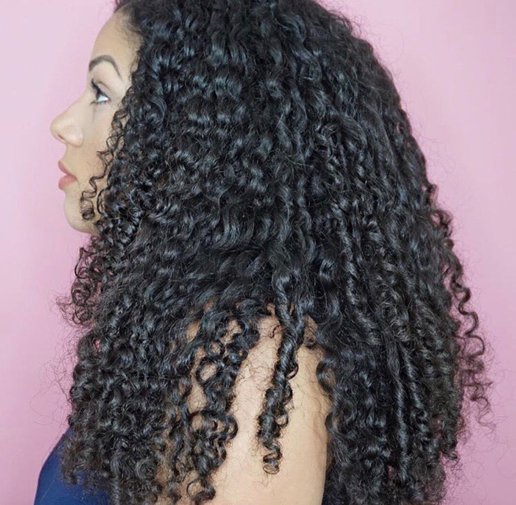 Curly Heaven Premium Curly Clip In Hair Extensions