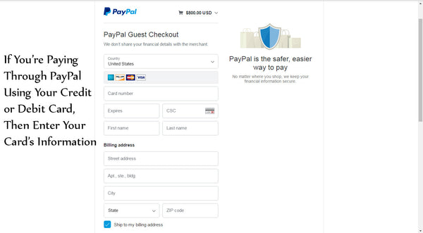 PayPal With Card