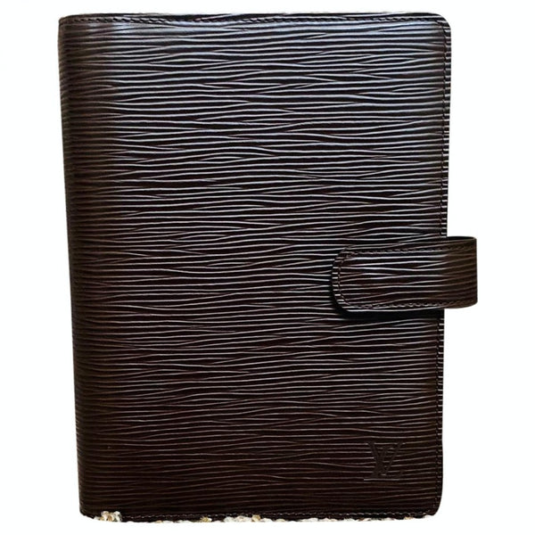 Louis Vuitton Agenda MM R2004D Brown Epi Diary Cover  11510