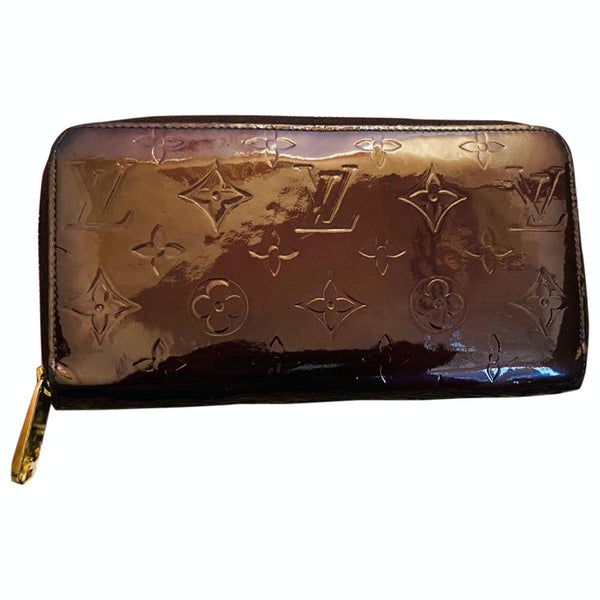 Louis Vuitton Amarante Vernis M93522 Zippy Wallet 11504