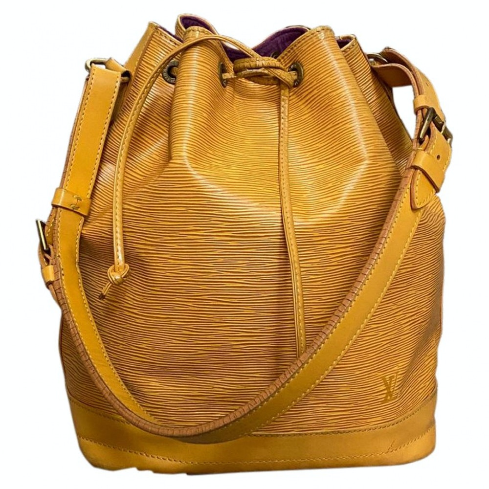 Louis Vuitton Petit Noe Epi M44009 Yellow Shoulder Bag 11513