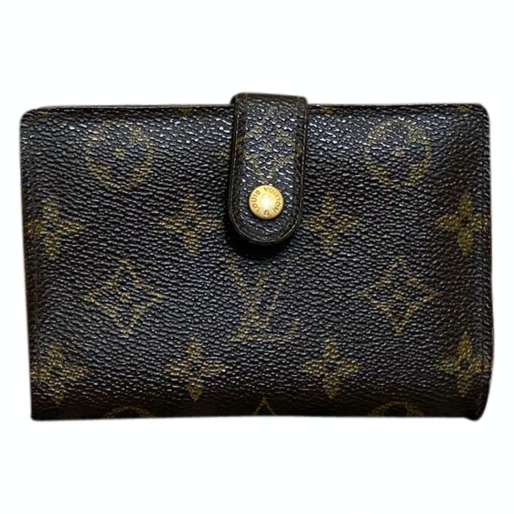 Louis Vuitton  Porutomone Bie Vienowa M61663 Brown Monogram Wallet 11514