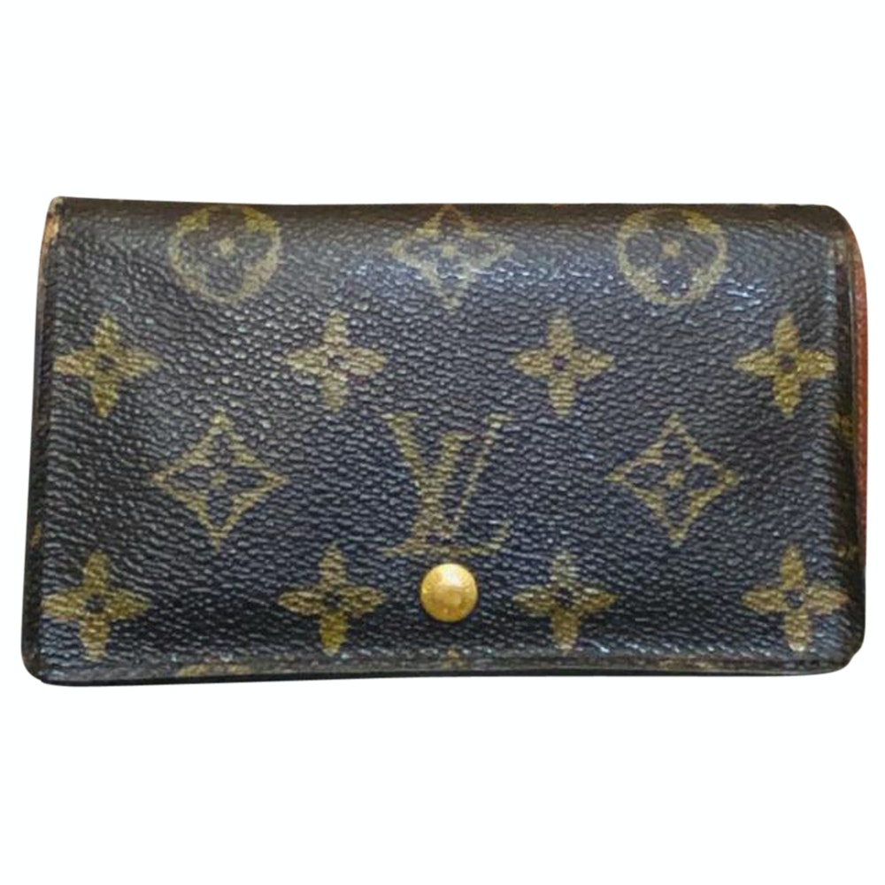 Louis Vuitton Portefeiulle Tresor M61730 Brown Monogram Wallet 11518