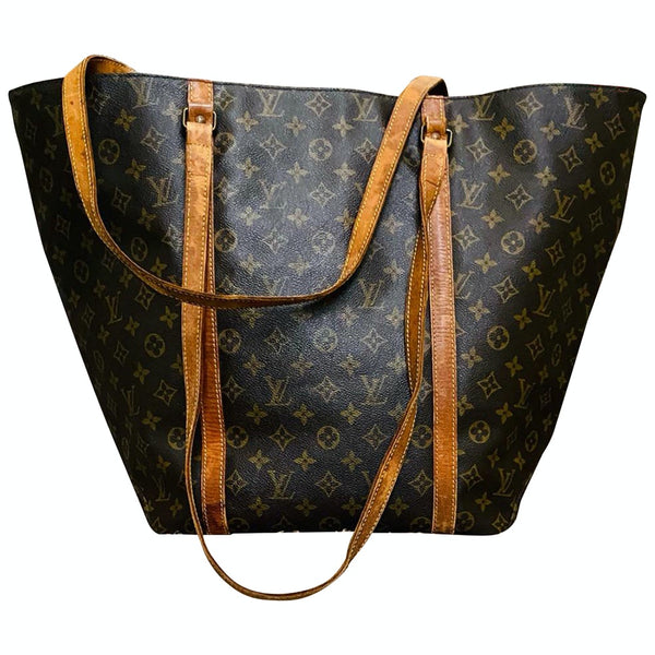 Louis Vuitton Sac Shopping M51108 Brown Monogram Shoulder Bag 11540
