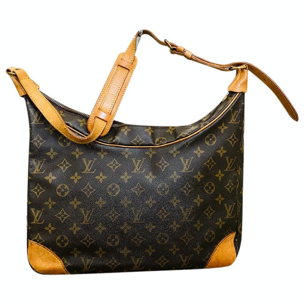 Louis Vuitton Boulogne 35 M51260 Brown Monogram Shoulder Bag 11541