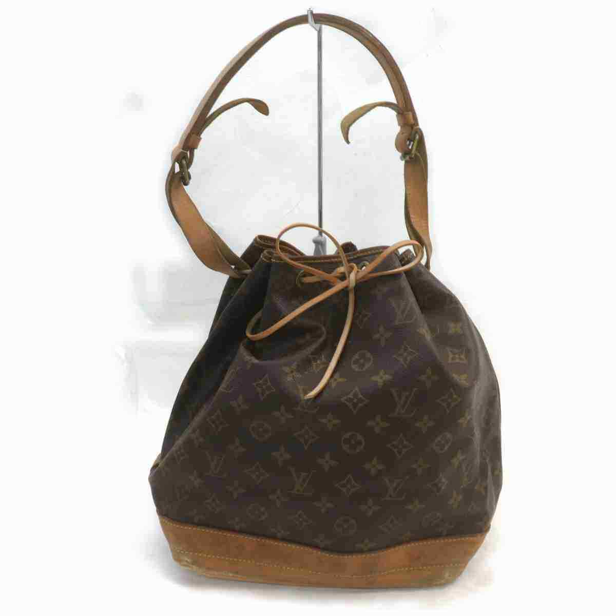 Louis Vuitton Noe M42224 Brown Monogram Shoulder Bag 11459