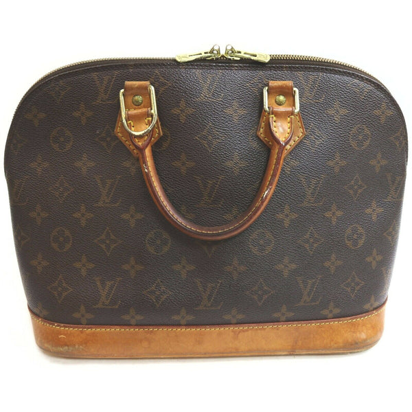 Louis Vuitton Alma M51130 Brown Monogram Hand Bag 11550