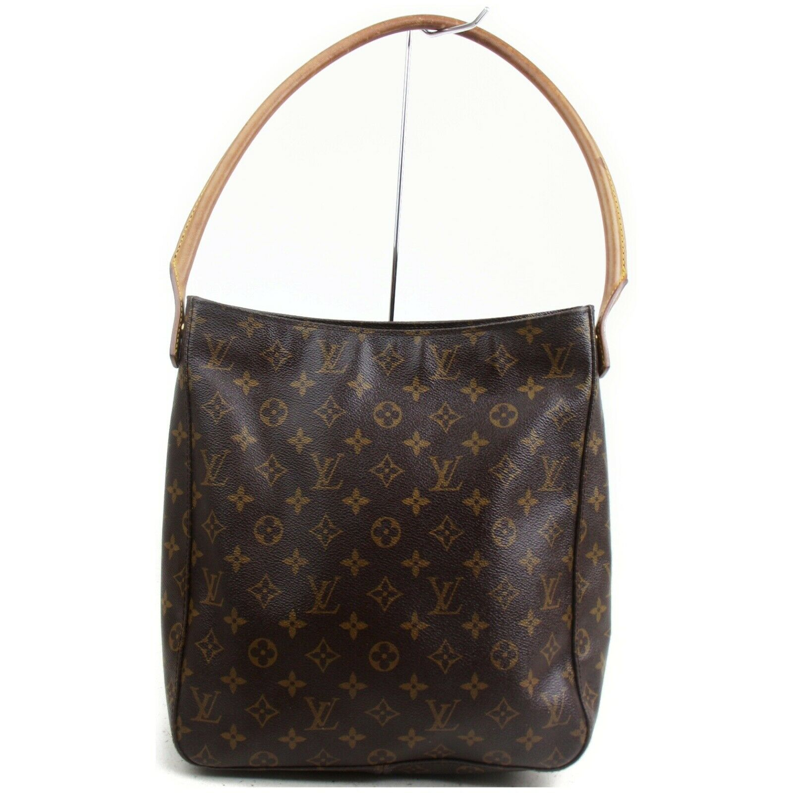 Louis Vuitton Looping GM M51145 Brown Monogram Shoulder Bag 11410