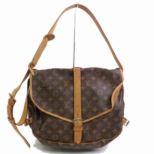 Louis Vuitton  Saumur 35 M42254 Brown Monogram Shoulder Bag 11286 - eModaOutlet
