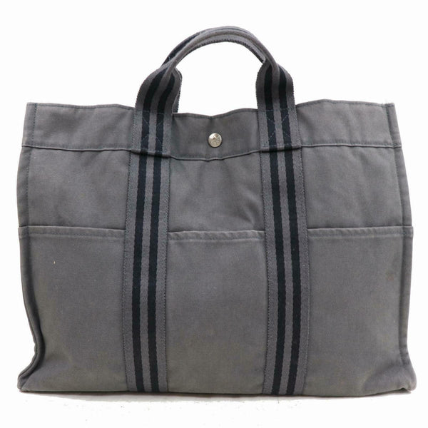 Hermes Garden Party Gray Tote Bag 11238 - eModaOutlet