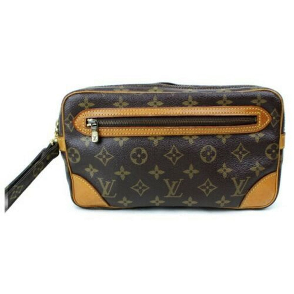 Louis Vuitton Marly Dragonne M51827 Brown Monogram Second Bag