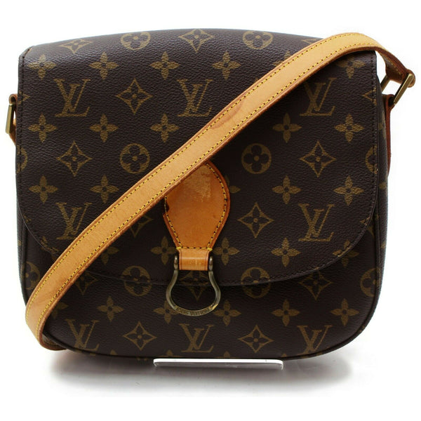Louis Vuitton Saint Cloud GM M51242 Brown Monogram Shoulder Bag  11522