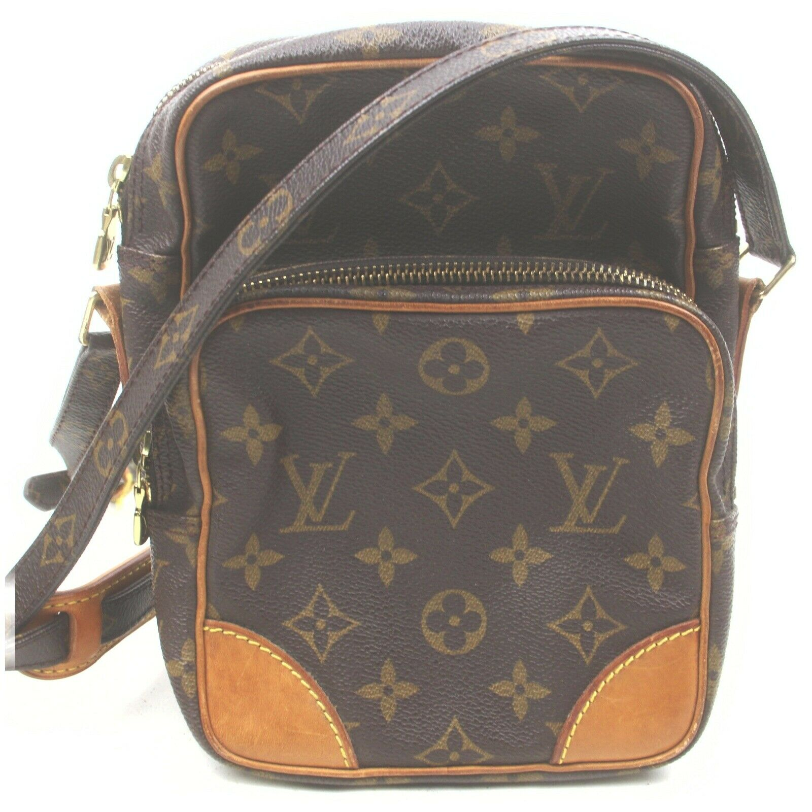 Louis Vuitton Amazon M45236 Brown Monogram Shoulder Bag 11561