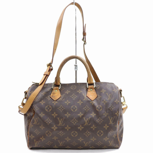 Louis Vuitton Speedy 30 Bandouliere M40391 Brown Monogram Hand Bag 11201