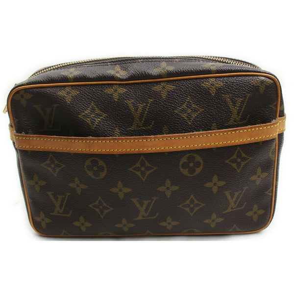 Louis Vuitton Compiegne 23 M51847 Brown Monogram  Clutch Bag 11548
