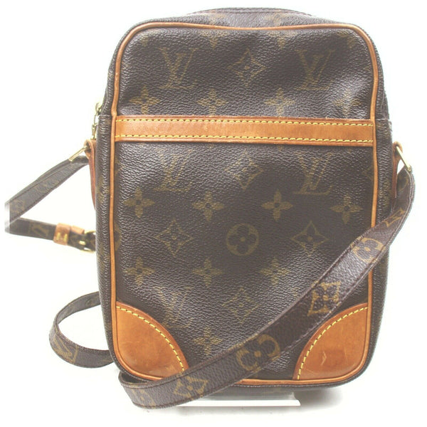 Louis Vuitton Danube M45266 Brown Monogram Shoulder Bag 11562