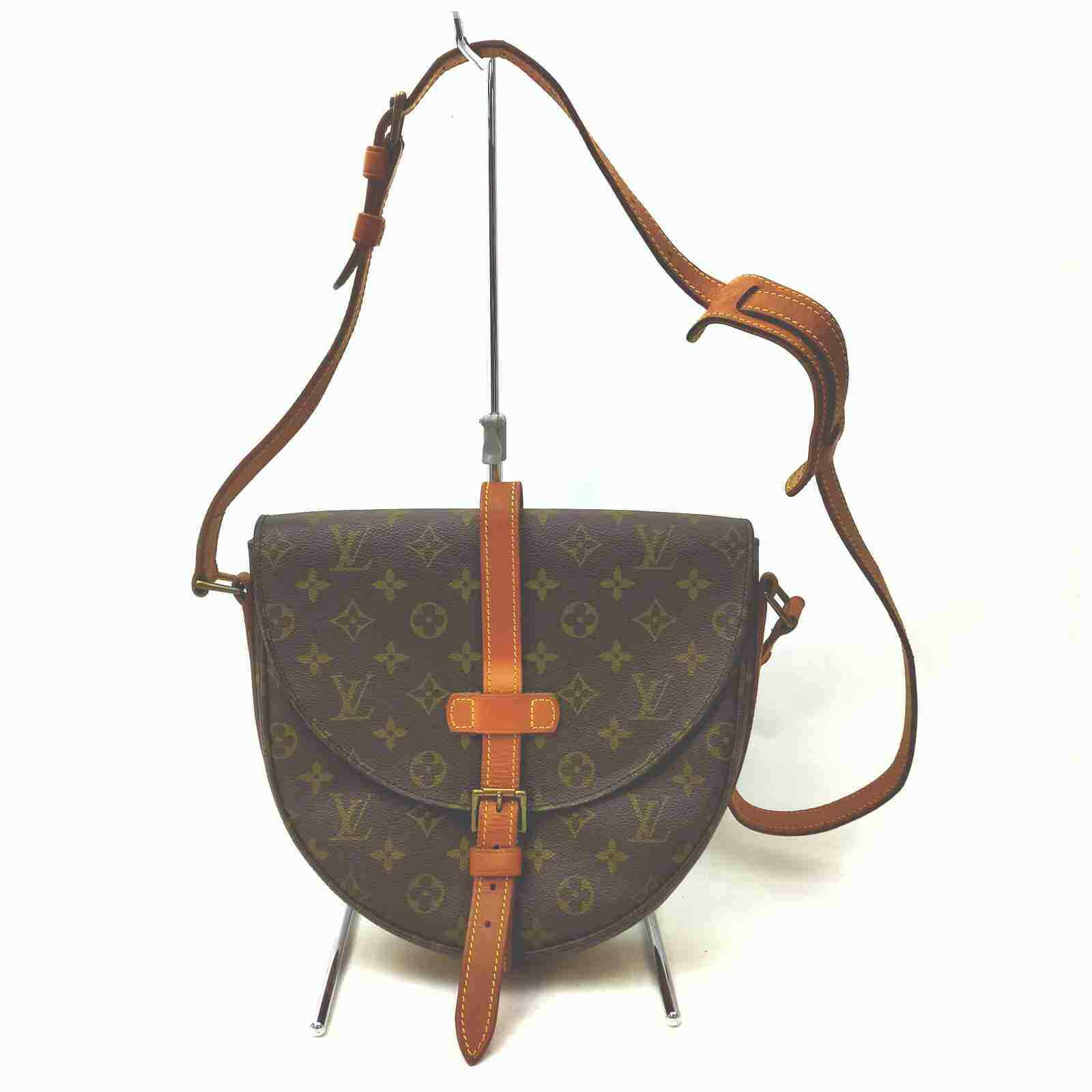 Louis Vuitton Chantilly GM  M40647 Brown Monogram Shoulder Bag 11538