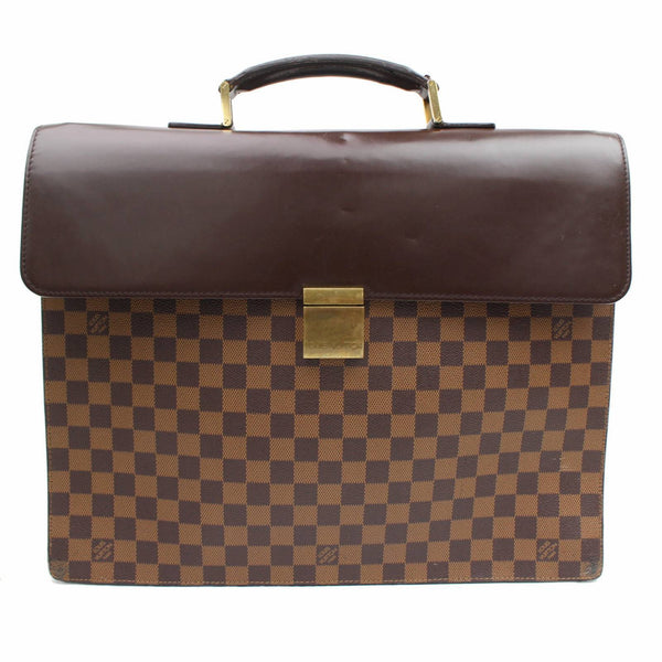 Louis Vuitton Altona GM N53312 Damier Ebene Brown Business Bag 11094 - eModaOutlet