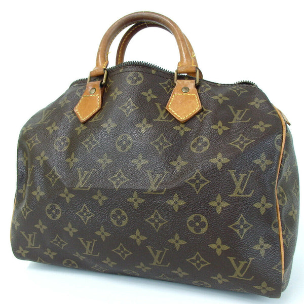 Louis Vuitton Speedy 30 M41526 Monogram Handbag 11458