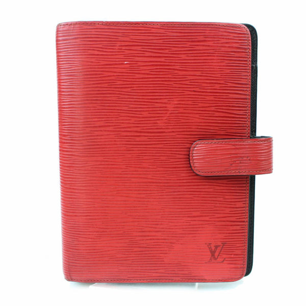 Louis Vuitton Agenda MM Red Epi Diary Cover 10853 - eModaOutlet