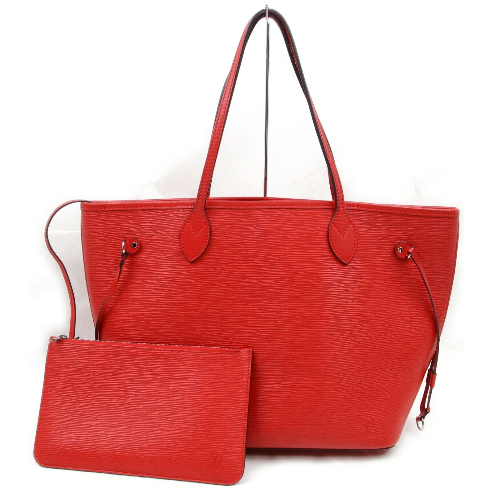 Louis Vuitton Neverfull MM M41318 Red Epi Tote Bag