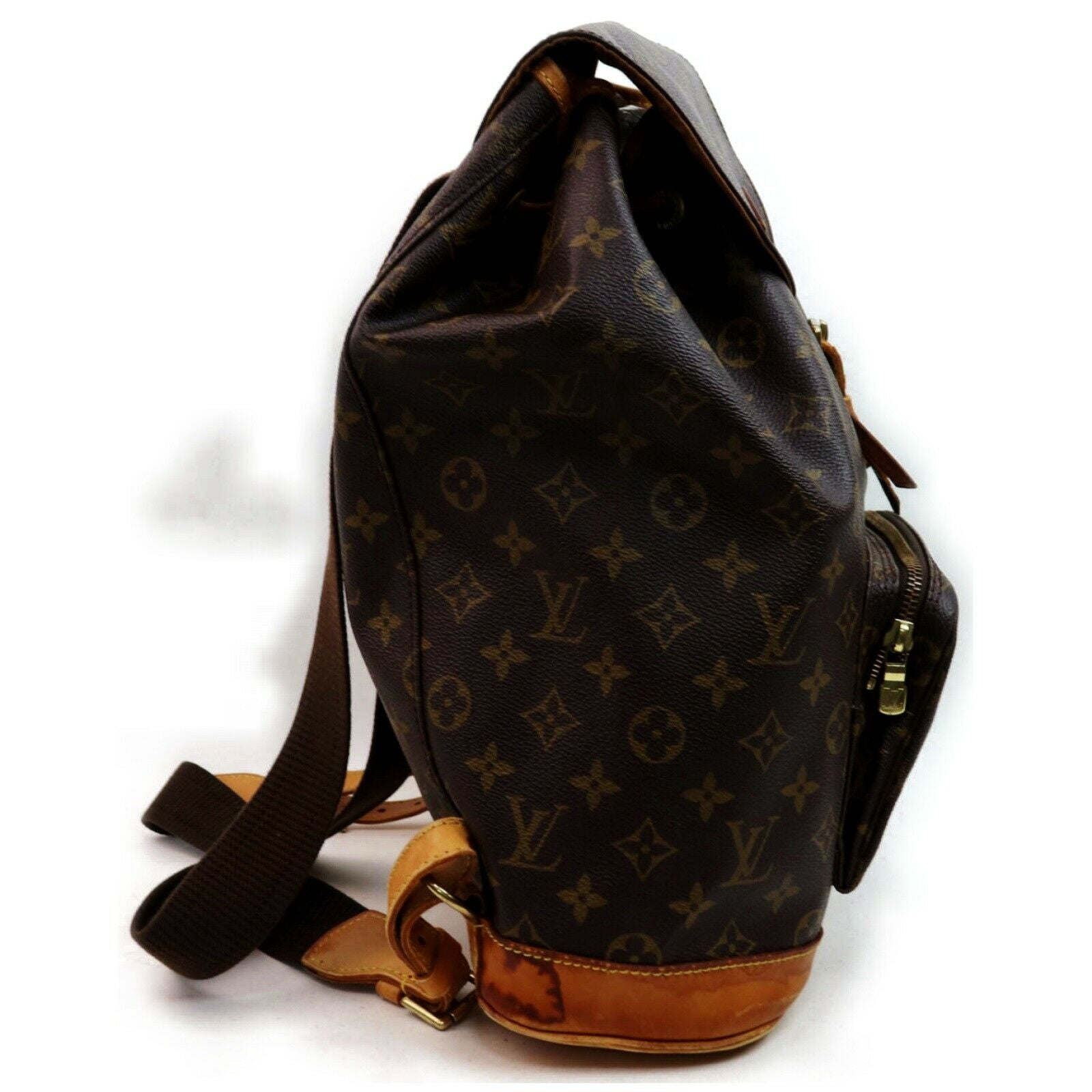 Louis Vuitton Montsouris GM M51135 Brown Monogram BackPack 11439