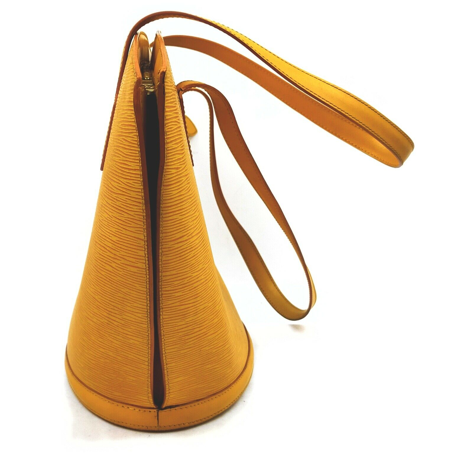 Louis Vuitton Saint Jacques M52269 Yellow Epi Shoulder Bag  11543