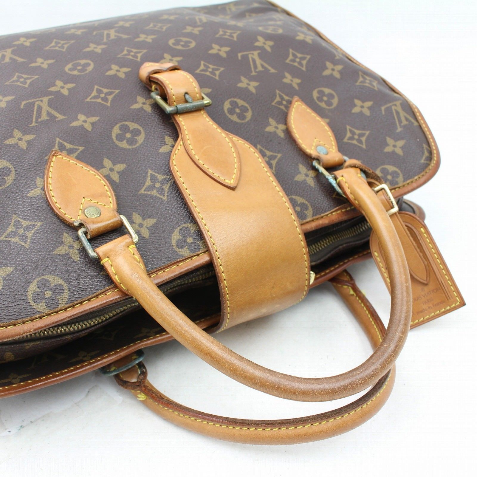 Louis Vuitton Rivoli M53380 Brown Monogram Business Bag  10895
