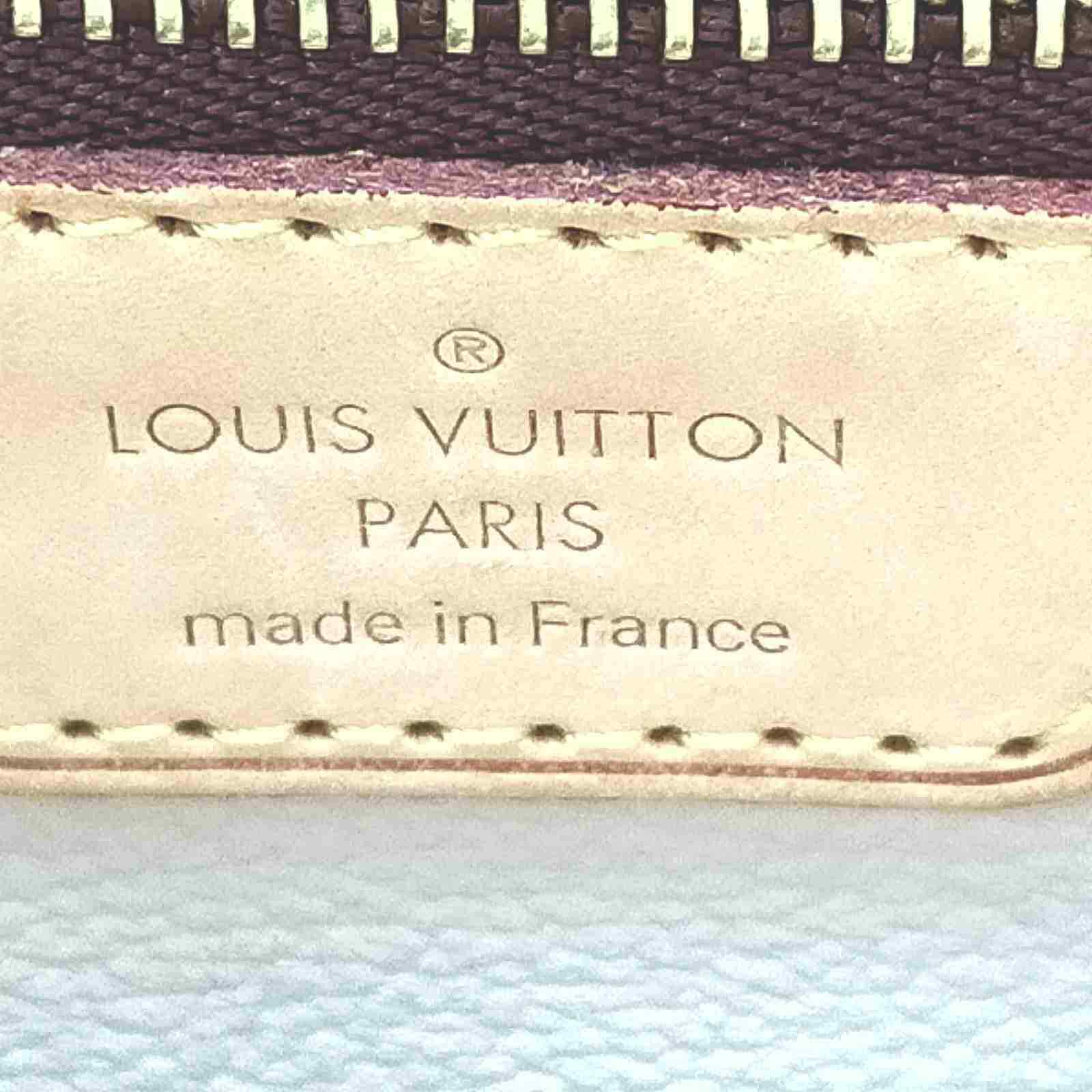 Louis Vuitton Bucket PM M42238 Brown Monogram Tote Bag 11528