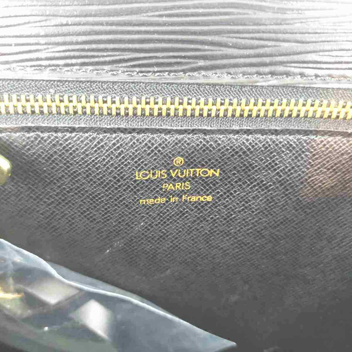 Louis Vuitton Monceau M52122 Black Epi Handbag 11503