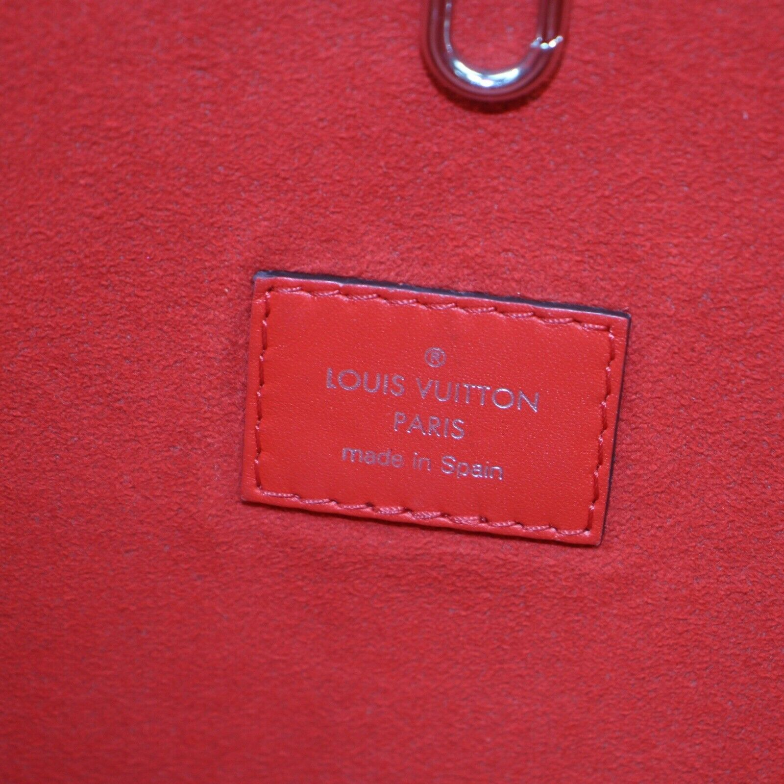 Louis Vuitton M41318 Neverfull MM Red Epi Tote Bag 11443
