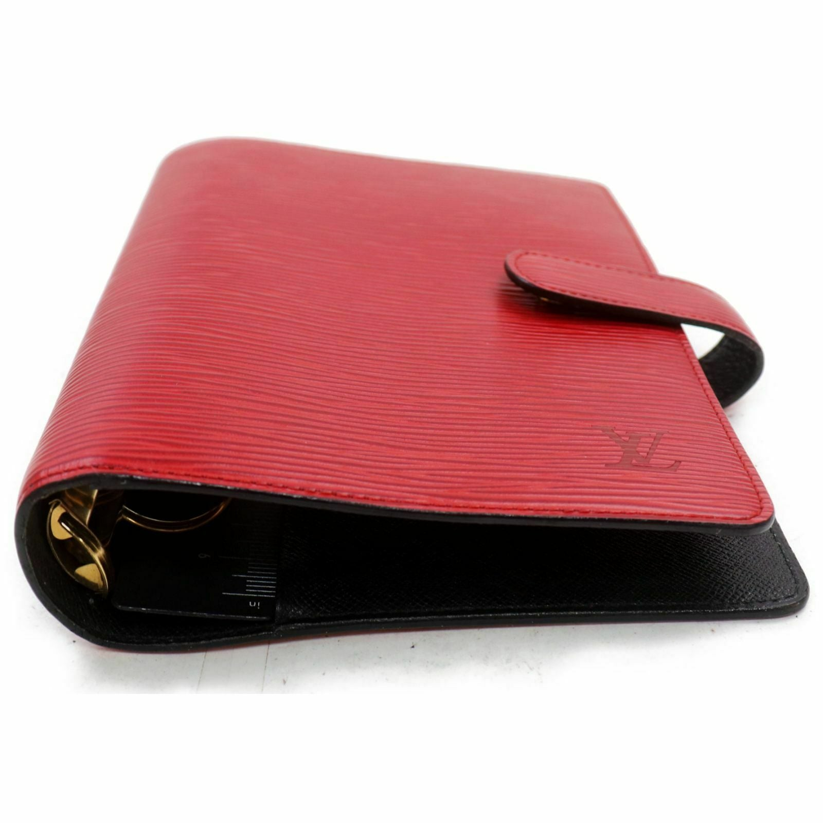 Louis Vuitton Agenda MM R2004E Red Epi Diary Cover 11536