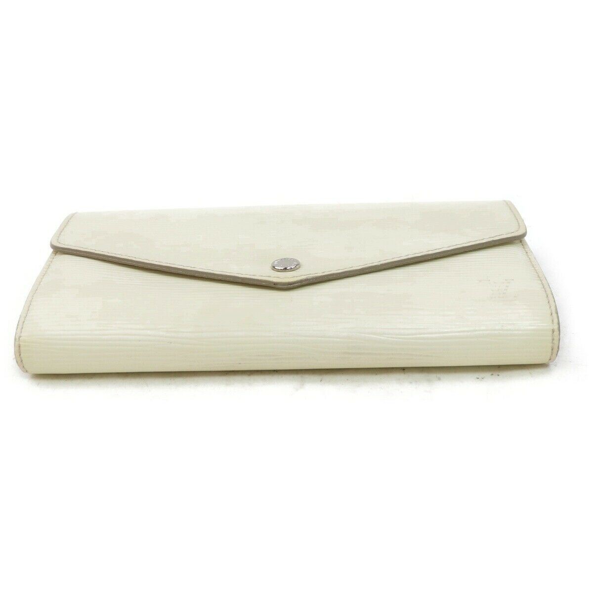 Louis Vuitton Portefeuille Sarah M6057J White Epi Long Wallet 11477