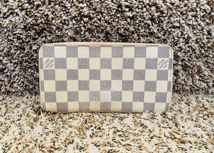 Louis Vuitton Zippe N60019 Damier Azur Zippy Wallet 11469
