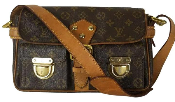 Louis Vuitton Hudson PM Brown Monogram Shoulder Bag 10879