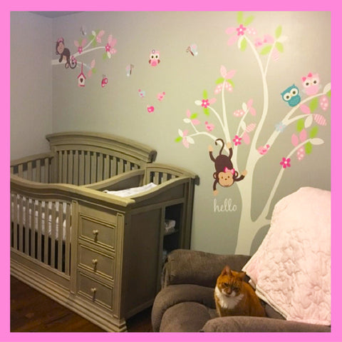 Baby Nursery Stickers Girls