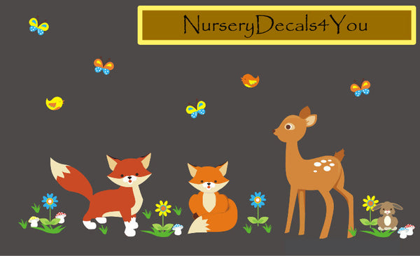 Nursery Wall Decals NurseryDecals4You