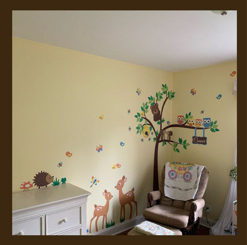 Forest Animal Childrens Room