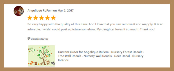 Forest Animal Wall Decals