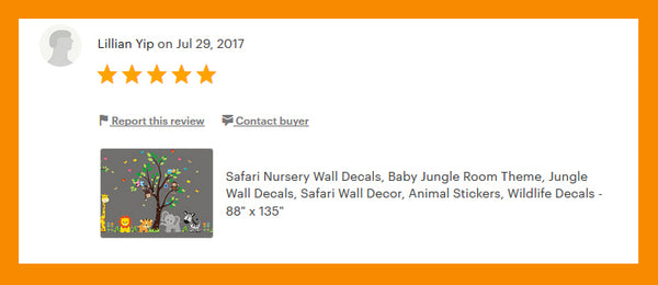 Safari Animal Decals Baby Room Stuff