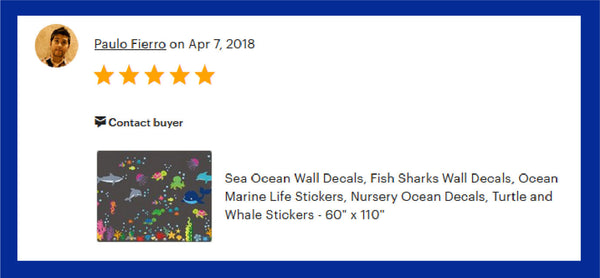 Oceanic Whale Shark Stickers