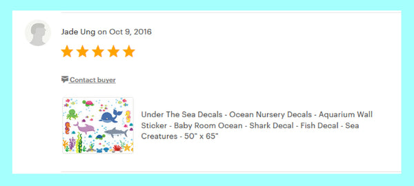 Marine Life Nursery Decals Ocean Theme