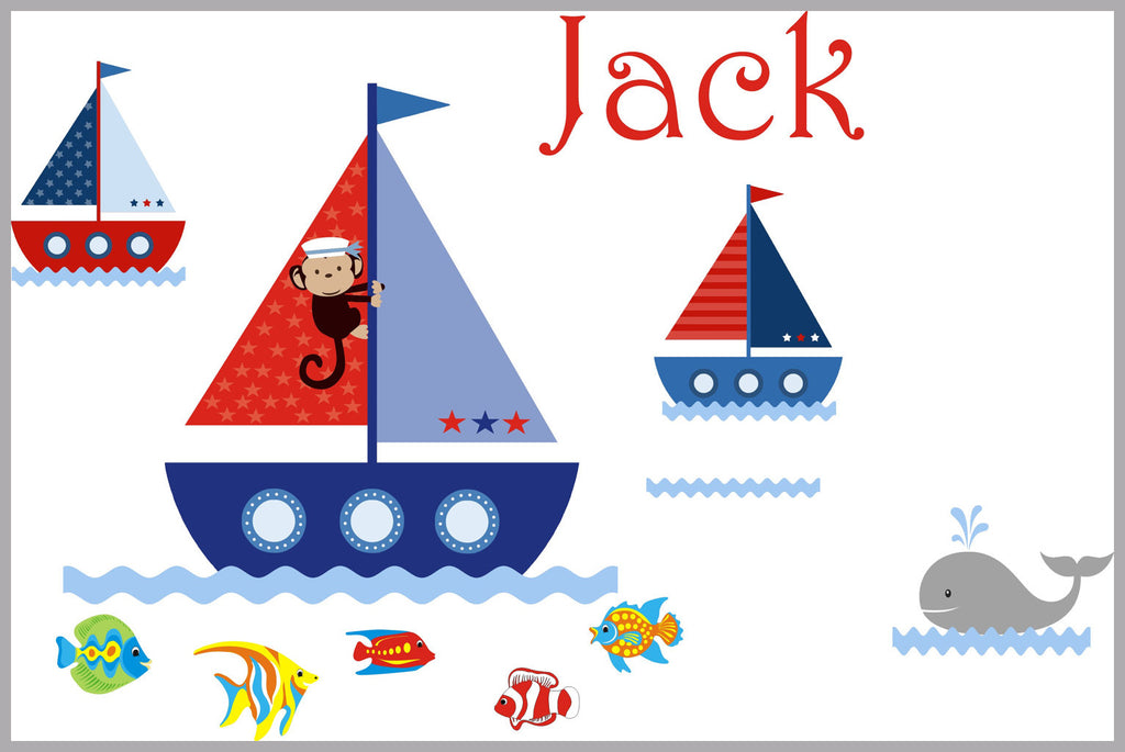 Boat and Ocean Boys Decals