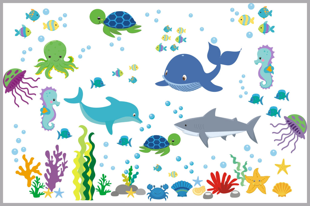Under the Sea Ocean Decals