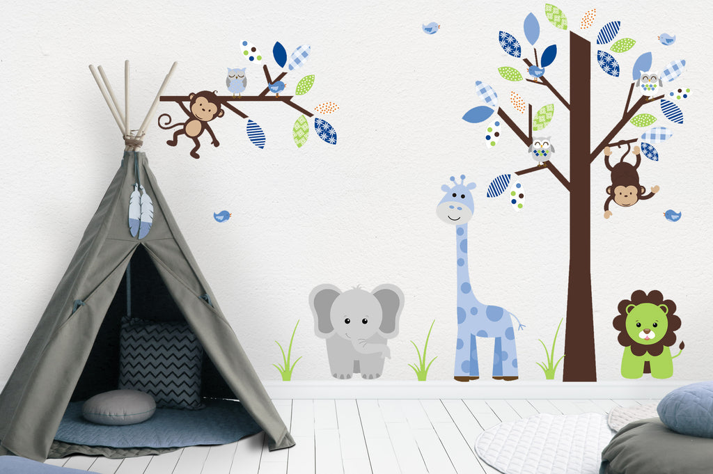 Baby Boys Nursery Decor