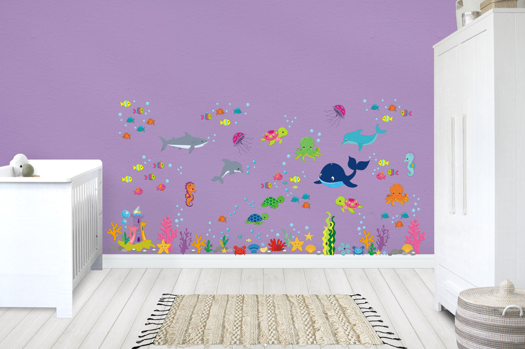Ocean Nursery Decals