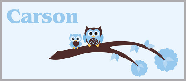 Boys Owl Nursery Decals