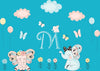 Monogrammed Nursery Decals