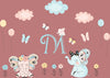 Cloud Butterflies Baby Decals